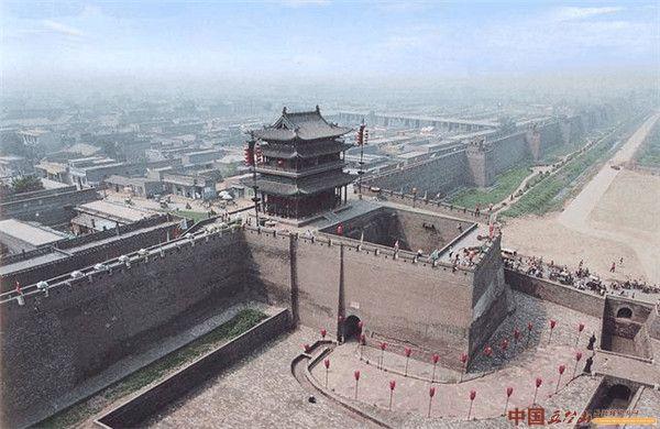 山西晋中最著名的十大旅游景点:平遥古城