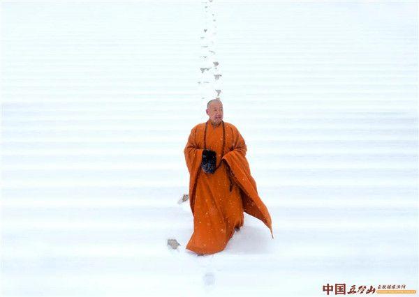 五台山大圣竹林寺 | 《竹林春雪》