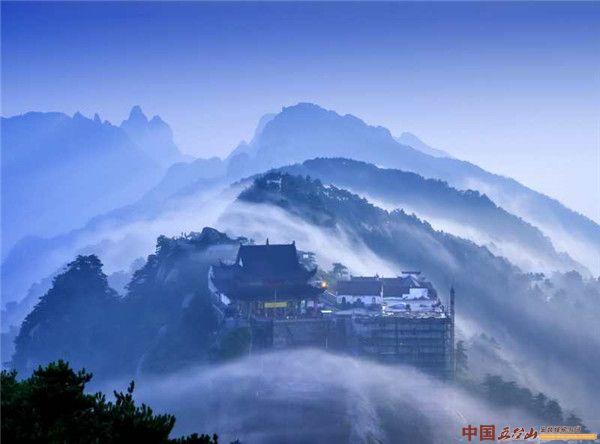 山雨初晴的九华山如梦如幻美翻天!是安徽最值得打卡景区之一
