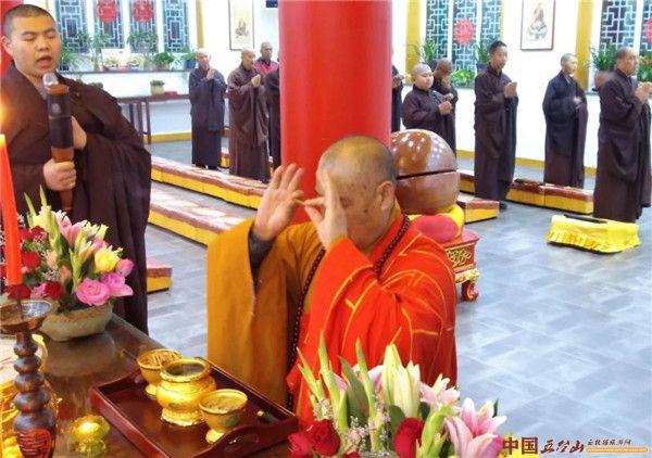 五台山大圣竹林寺:观世音菩萨出家日 祝圣祈福法会