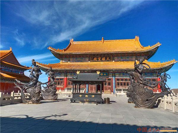 山西寺庙系列:五台山中台演教寺