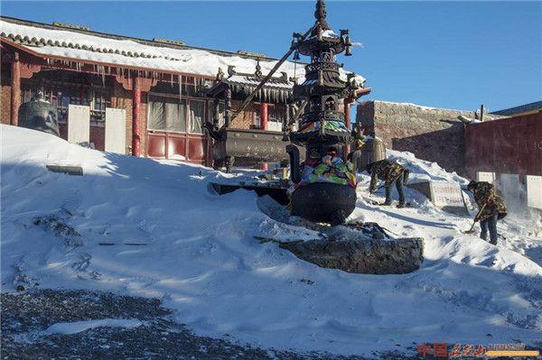 五台山:文殊菩萨沐浴显圣之澡浴池