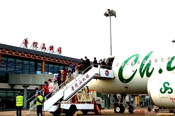 舟山普陀山机场单日单月客流量再创新高