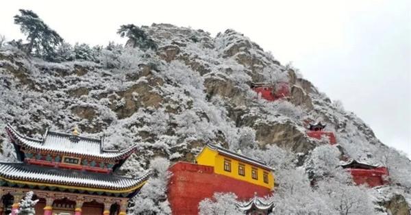 雪后的五台山 太美了