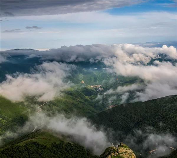 美上热搜!五台山绝世奇景
