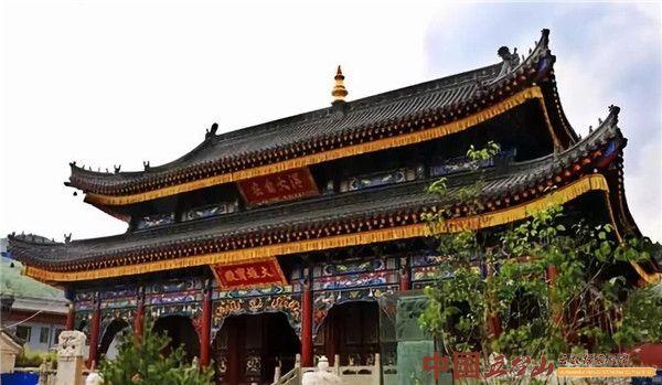 五台山寺庙:华严道场广化寺