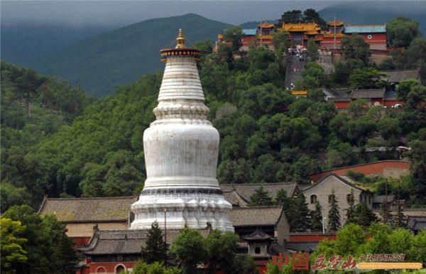 五台山著名古刹塔院寺