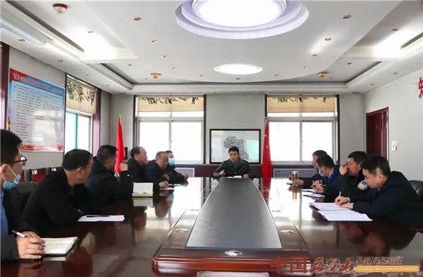 五台山景区召开春节安保会议