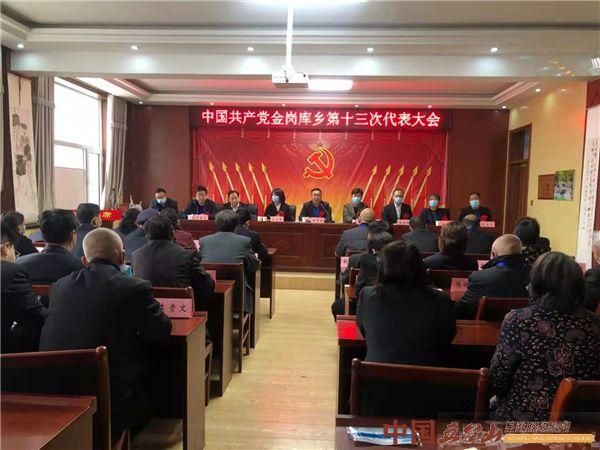 中国共产党金岗库乡第十三次代表大会召开